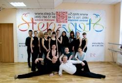 Старались - готовились - станцевали Гоу-гоу - фото на память_STE5556.jpg Фотография на память с танцовщицами Гоу-Гоу в Химки - они подарили свой танец мужчинам!
