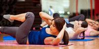 ABS + stretching + подтянуть пресс, ягодицы и спину