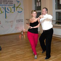 Парный танец Хастл Химки