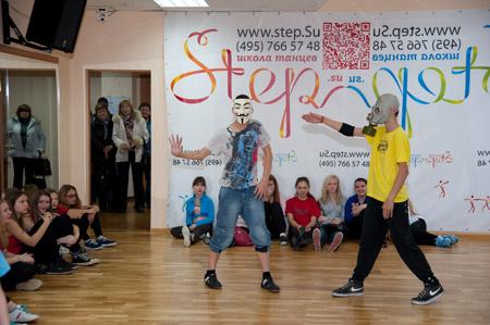 break dance crew Крецу Егоров - оригинальный танец
