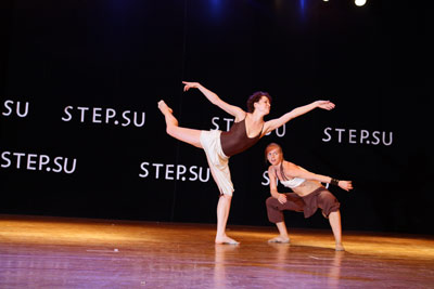 танцы в Химки модерн - проект 2 - выступление в концерте сэп эс ю на счене