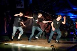 Степ вечеринка в Вортэксе — новое оформление танцевального зала — новая концепция танцевальных вечеров.